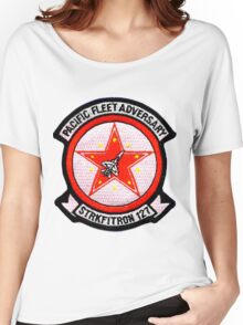 VFA-127 Desert Bogeys (Pacific Adversary Squadron) Women's Relaxed Fit T-Shirt