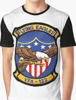VFA-122 Flying Eagles Patch Graphic T-Shirt