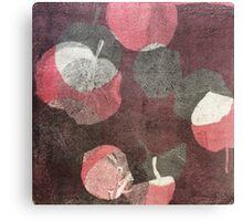 inked flower Canvas Print
