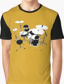 Drumkit (back view) Graphic T-Shirt