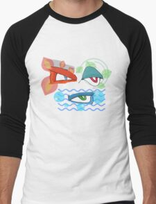 The Evolved Eyes Men's Baseball ¾ T-Shirt