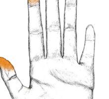 Cheeto Fingers Sticker