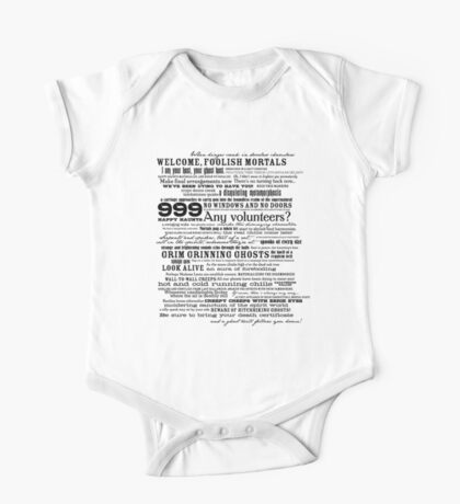 I am your host, your Ghost Host...(Black) Kids Clothes