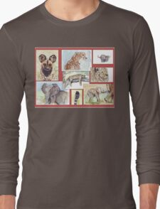 South African Wildlife collection Long Sleeve T-Shirt