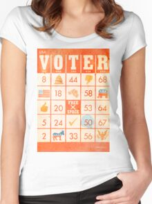 The Bingo Vote Women's Fitted Scoop T-Shirt