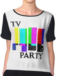 TV Party Chiffon Top