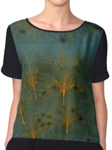 Dandelion At Dusk Chiffon Top