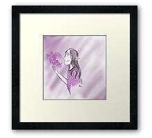Elvish Girl Framed Print