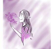 Elvish Girl Photographic Print