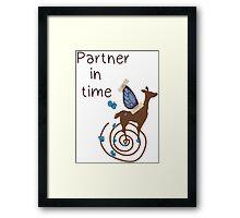 Life is strange Partner in time Framed Print