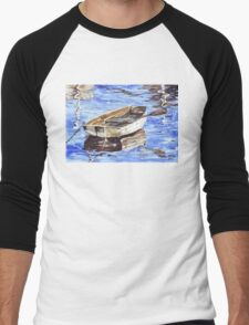 All aboard the Nautical theme Men's Baseball ¾ T-Shirt