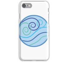 Water Symbol Swirly  iPhone Case/Skin