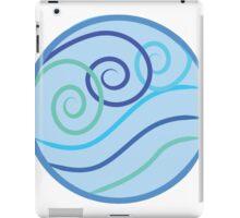 Water Symbol Swirly  iPad Case/Skin