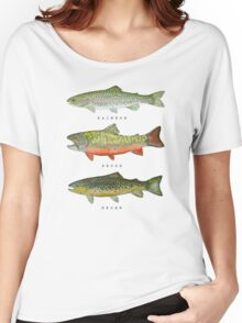 Trout Triad Women's Relaxed Fit T-Shirt