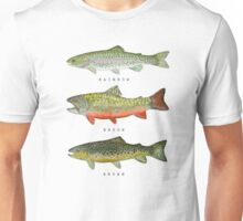 Trout Triad Unisex T-Shirt