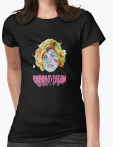 Oberhofer Chronovision Album Cover Womens Fitted T-Shirt