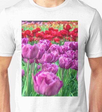 Tulip Field Unisex T-Shirt