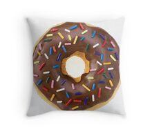 Donut Print- on everything Throw Pillow