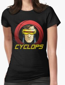 Cyclops •X-Men Animated Cartoon Womens Fitted T-Shirt