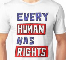 HUMAN RIGHTS Unisex T-Shirt