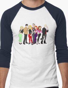 buffy-doo Men's Baseball ¾ T-Shirt