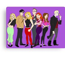 buffy-doo Canvas Print