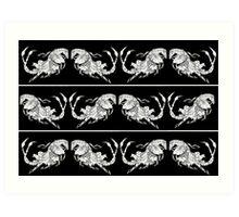 Horse x Scorpion Beast Merchandise Art Print