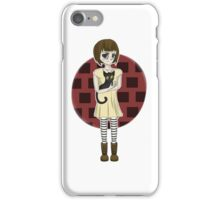 Fran Bow and Mr. Midnight iPhone Case/Skin