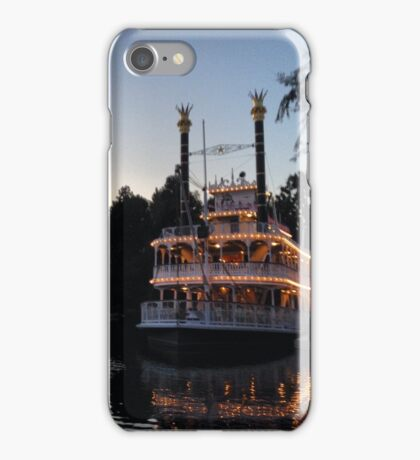 A night on the river iPhone Case/Skin