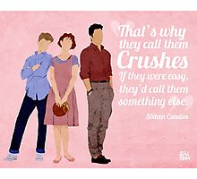 Sixteen Candles Quote Photographic Print