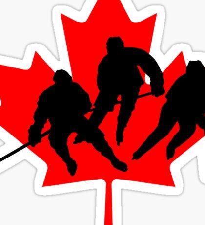 Canada hockey Sticker
