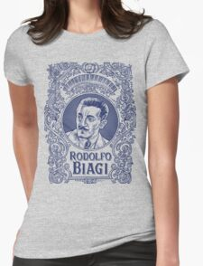 Rodolfo Biagi (in blue) Womens Fitted T-Shirt