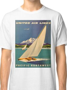 Vintage poster - Pacific Northwest Classic T-Shirt