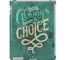 Supernatural Dean Winchester Quote iPad Case/Skin