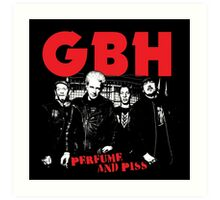 Charged GBH Art Print