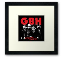 Charged GBH Framed Print