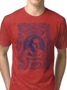 Roberto Firpo (in blue) Tri-blend T-Shirt