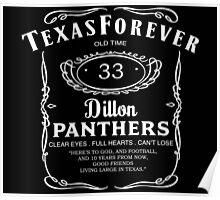 Texas Forever Whiskey Inspired Poster