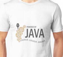 Powered  by Java VRS2 Unisex T-Shirt