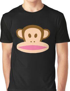 Monkey Face Graphic T-Shirt