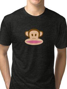 Monkey Face Tri-blend T-Shirt