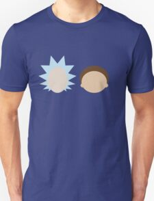 Rick and Morty- Simple Design! Unisex T-Shirt