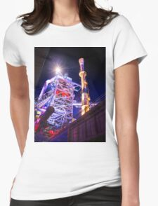Industrial HDR photography - Steel Plant 1 Womens Fitted T-Shirt