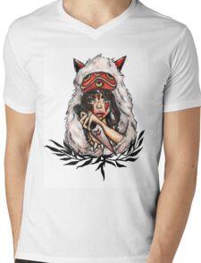 Mononoke Mens V-Neck T-Shirt