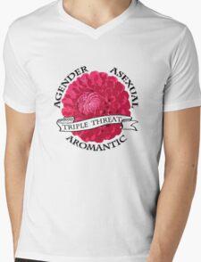 Triple A  Mens V-Neck T-Shirt
