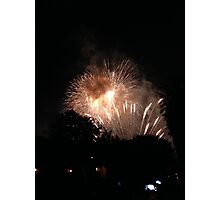 Firework friday Photographic Print