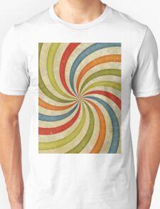 Psychedelic Retro Spiral Unisex T-Shirt