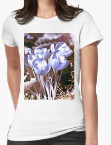 Crocus Infrared Womens Fitted T-Shirt