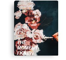 Taylor Swift The Moment I Knew Canvas Print