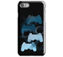 PS3 Gaming blue iPhone Case/Skin